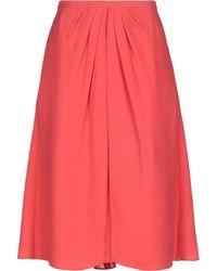 Cruciani 3/4 Length Skirt - Pink