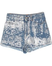 Just Cavalli Jeansshorts - Blau