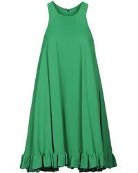 MSGM Kurzes Kleid - Grün