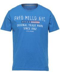 Fred Mello T-shirt - Blue