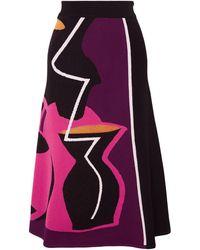 ROKSANDA 3/4 Length Skirt - Black