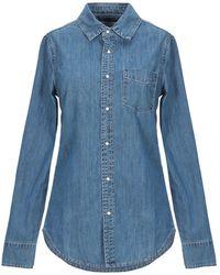 Silvian Heach Denim Shirt - Blue
