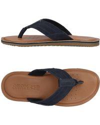 Geox - Toe Post Sandal - Lyst