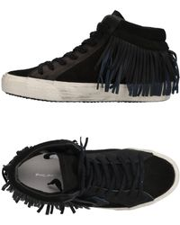 Philippe Model High-tops & Trainers - Black