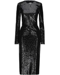 Philosophy Di Lorenzo Serafini Midi Dress - Black