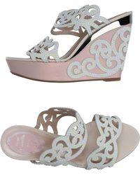 Rene Caovilla Sandals - White
