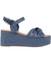 Casadei Sandale - Blau