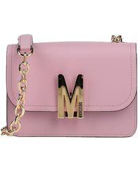Moschino Umhängetasche - Pink