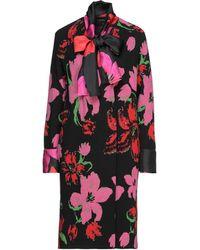 Fontana Couture Coat - Black