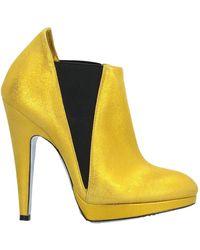 Rodolphe Menudier Bootie - Yellow