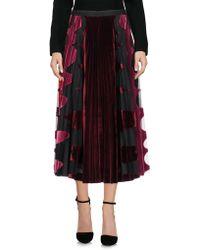 Mary Katrantzou - 3/4 Length Skirt - Lyst