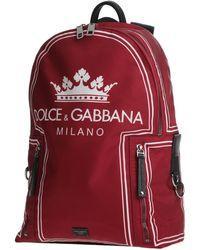 Dolce & Gabbana Rucksäcke & Bauchtaschen - Rot