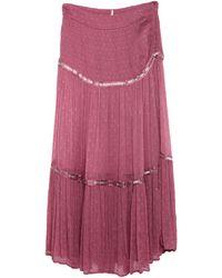 Free People Long Skirt - Purple