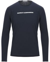 Grey Daniele Alessandrini T-shirt - Blue