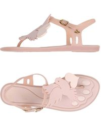 Vivienne Westwood Anglomania - Toe Strap Sandal - Lyst