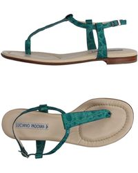 Luciano Padovan - Toe Post Sandal - Lyst
