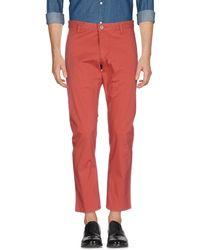 Dockers Pantalones - Rojo