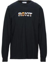 ROKIT T-shirt - Black