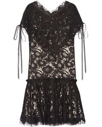 Wes Gordon - Short Dress - Lyst