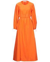 Jucca Robe longue - Orange