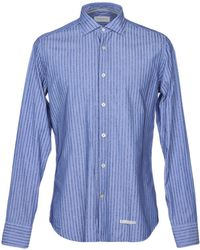Tintoria Mattei 954 Camisa - Azul