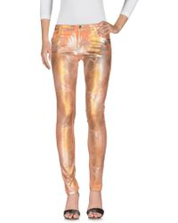 75 Faubourg Denim Trousers - Orange