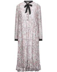 Roy Rogers Knee-length Dress - Grey