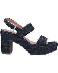 L'Autre Chose Sandale - Blau