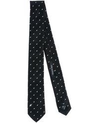 Neil Barrett Tie - Black