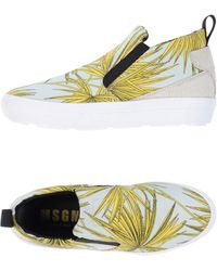MSGM - High-tops & Sneakers - Lyst