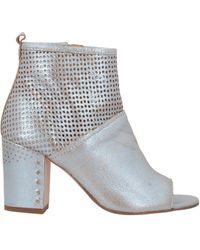 Manufacture D'essai Ankle Boots - Metallic