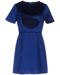 Marc By Marc Jacobs Short Dress - Blue
