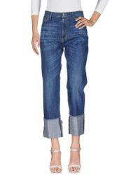 Jucca Pantaloni jeans - Blu