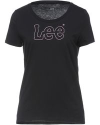 Lee Jeans T-shirts - Schwarz