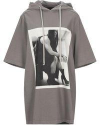 Rick Owens Drkshdw Sweatshirt - Grau