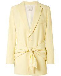 Tibi Suit Jacket - Yellow