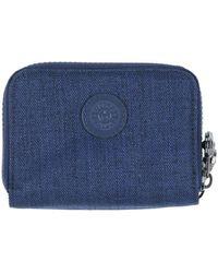 Kipling Brieftasche - Blau