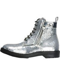 5b18b4a1f3 Ankle Boots - Metallic