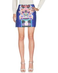 Mary Katrantzou Mini Skirt - Purple