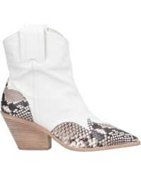 The Seller Ankle Boots - White