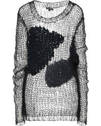 Ann Demeulemeester Pullover - Noir