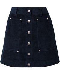 Proenza Schouler Mini Skirt - Blue