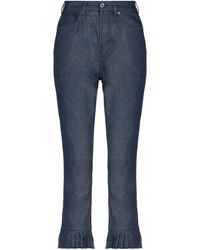 Maison Scotch Denim Trousers - Blue