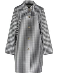 Cappellini By Peserico - Overcoat - Lyst