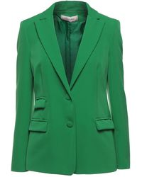 Twenty Easy By Kaos Suit Jacket - Green