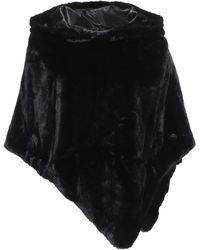 Marc Ellis Teddy Coat - Black