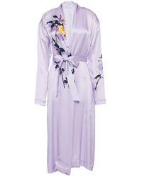 Dries Van Noten Robe - Purple