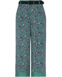 Silvian Heach Pantalones - Verde