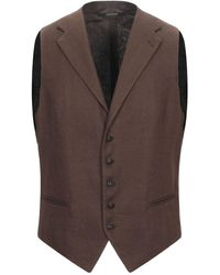 Tagliatore Waistcoat - Brown