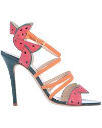 Camilla Elphick Sandals - Orange